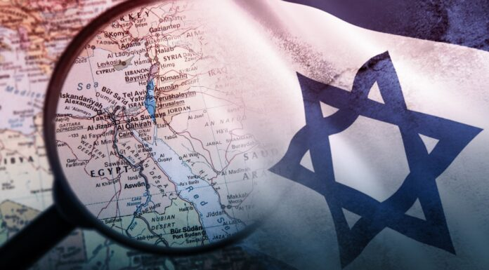 Israel, Middle East, Map