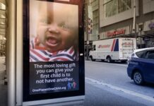 One child Ad campaign