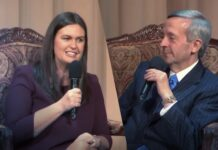 Robert Jeffress Interviews Sarah Huckabee Sanders