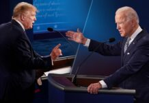 2020 Debate - Donald Trump, Joe Biden