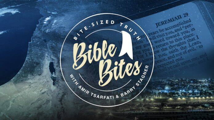 Amir Tsarfati, Barry Stagner Bible Bite