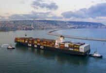 MSC cargo ship - UAE, Israel