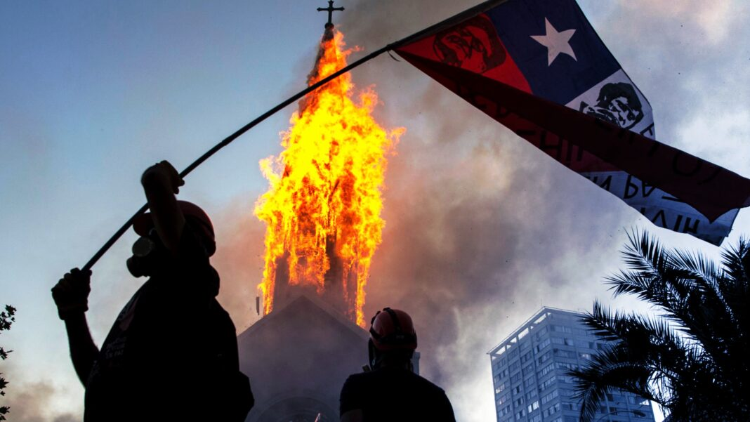 CHile Rioting