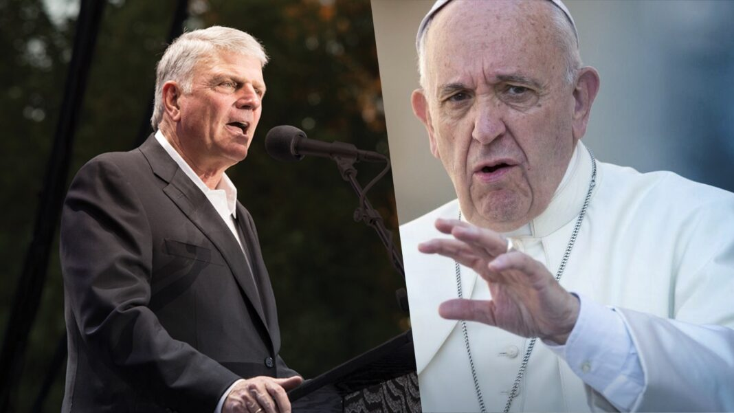 franklin graham, pope francis