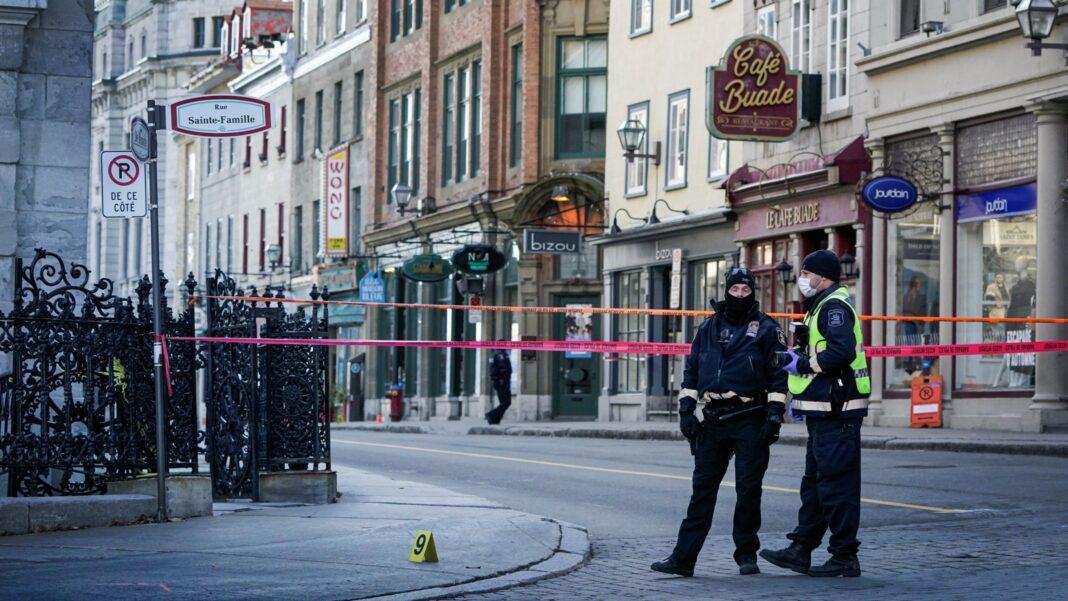Quebec Sword Attack