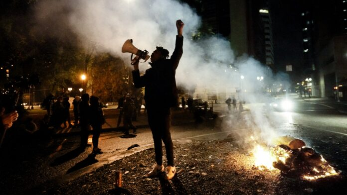 Election day rioting