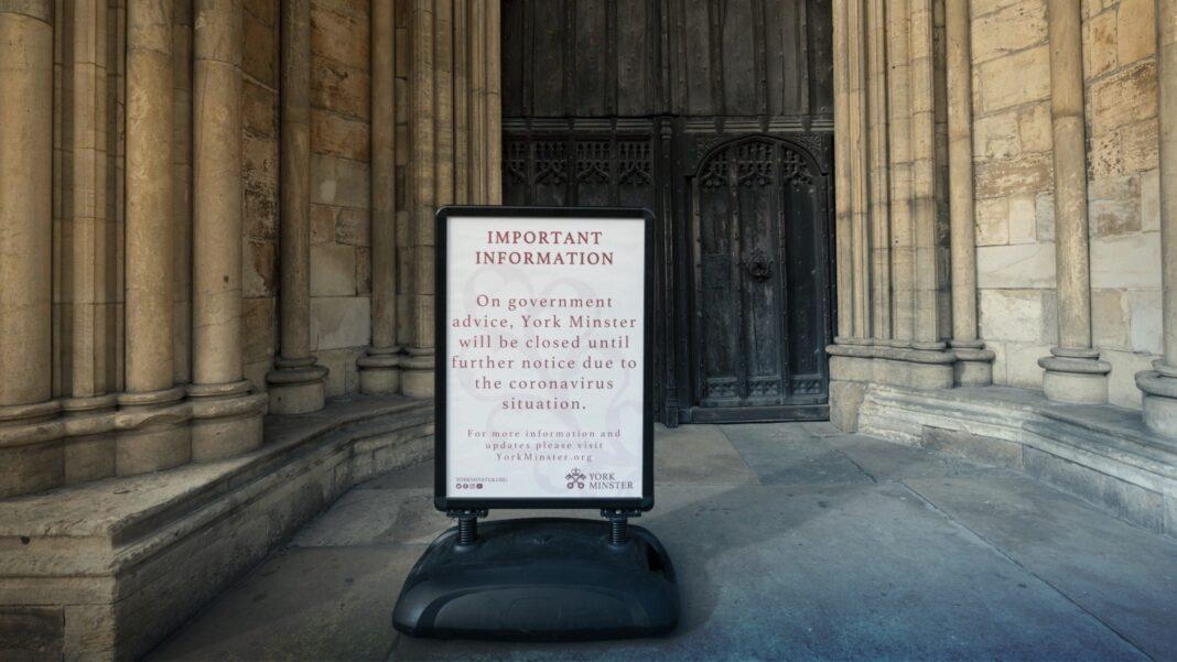 UK church coronavirus lockdown