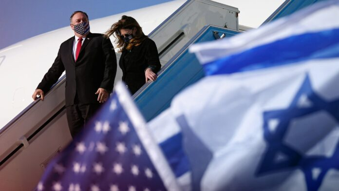 Mike Pompeo, United States, Israel