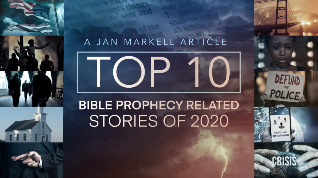 Jan Markell: Top 10 Bible Prophecy Stories of 2020
