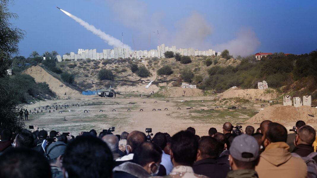 Joint Military Drill Gaza
