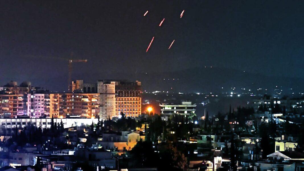 Israel Strikes Damascus