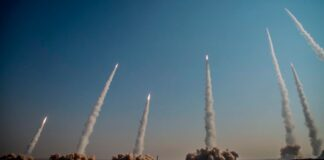 Iran, IRGC Missile Test