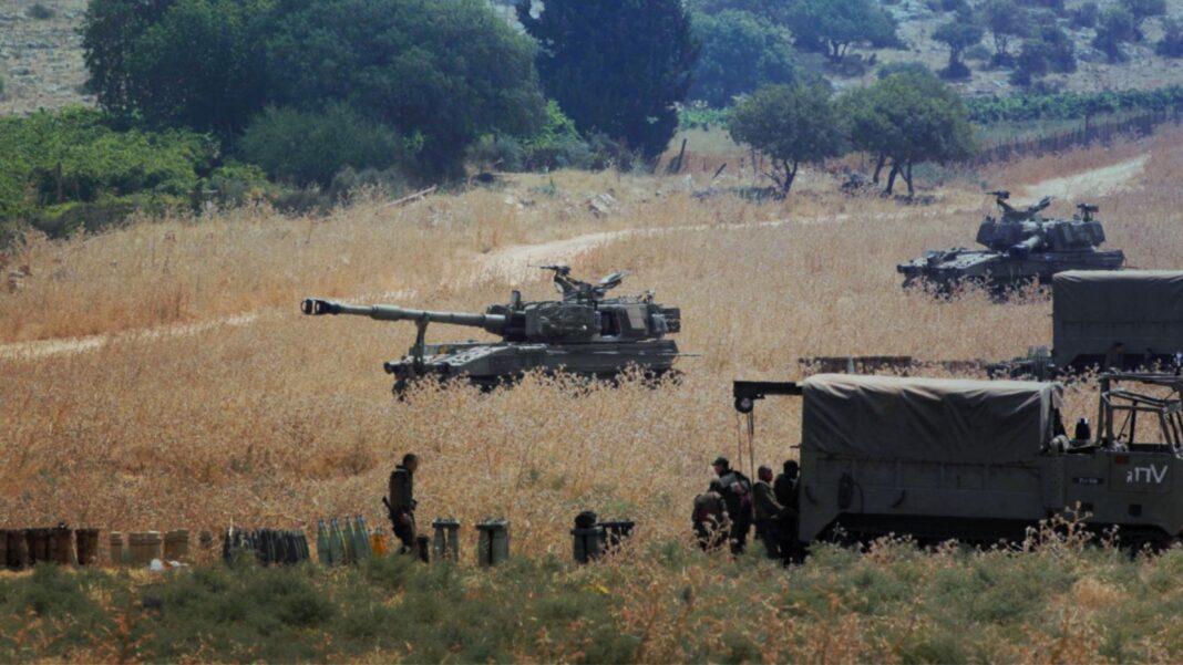 IDF, Golan, israel Lebanon border