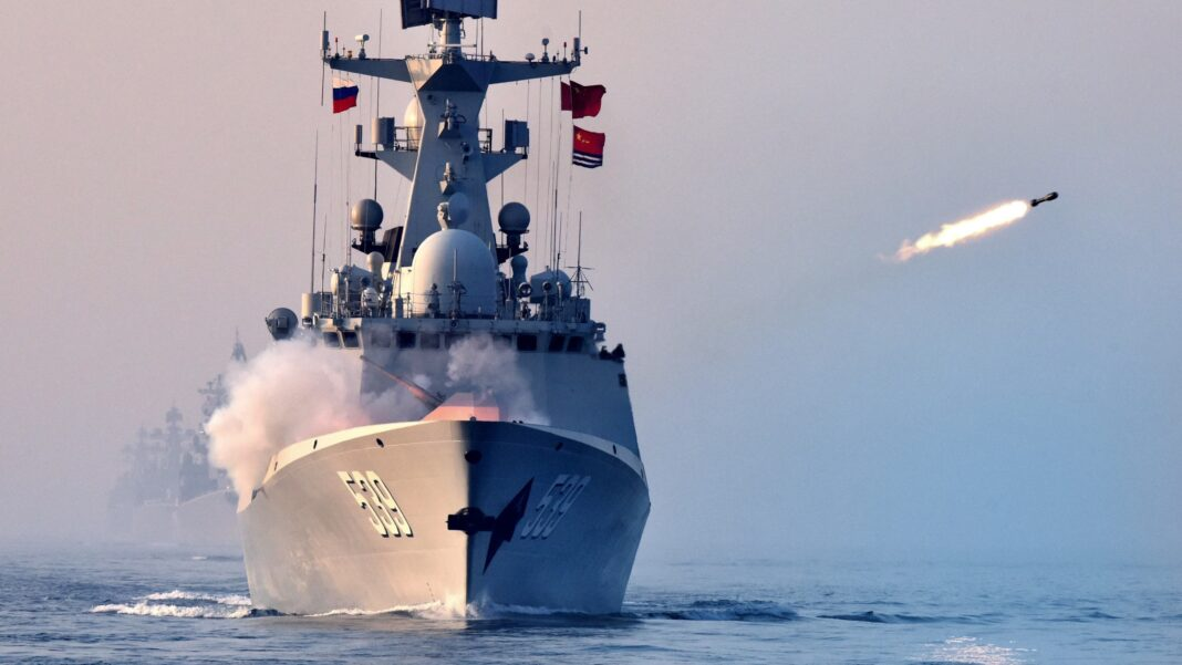Russia, China, Iran Joint Naval Drill