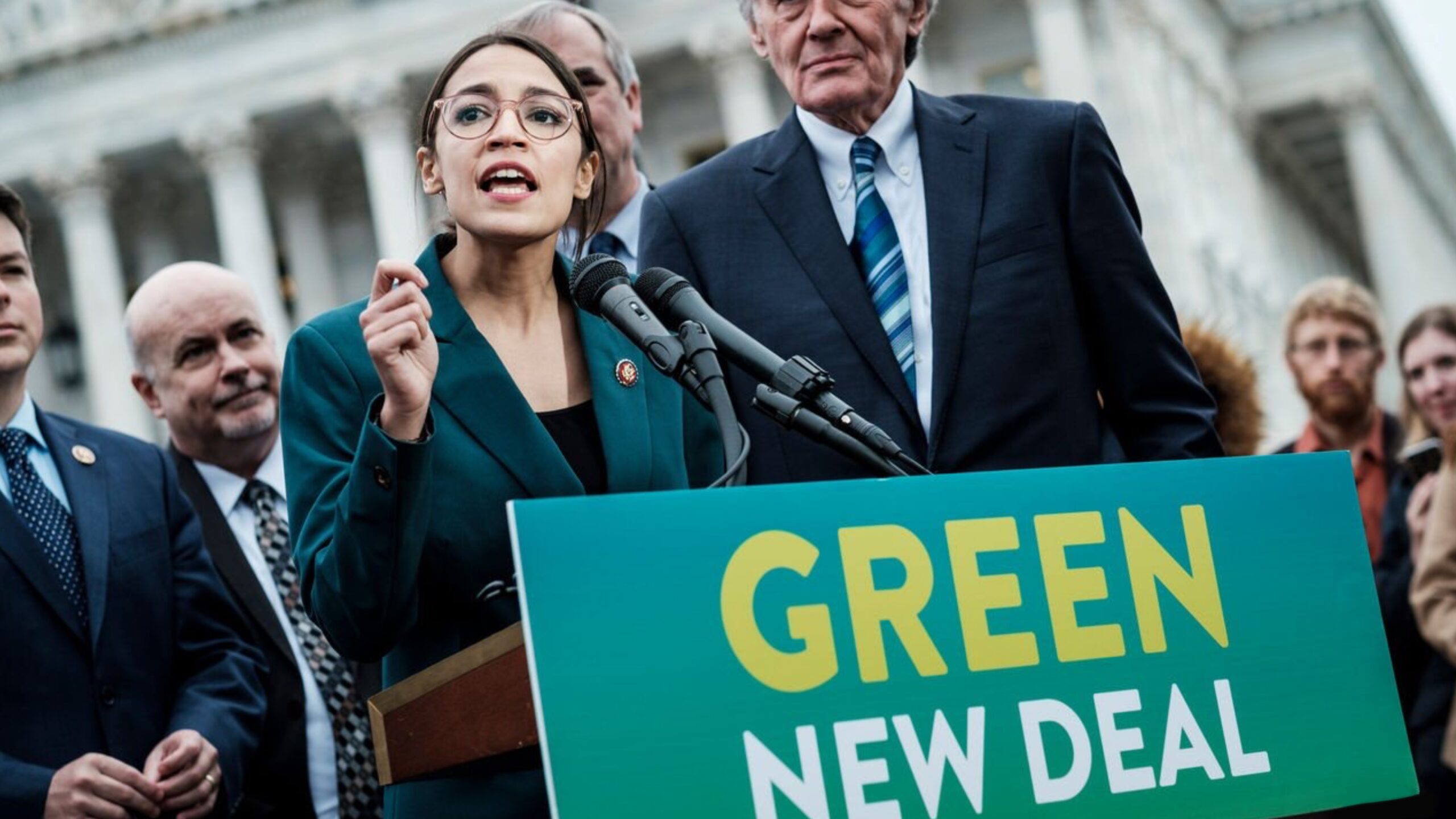 Environmentalism, climate change, green new deal, AOC