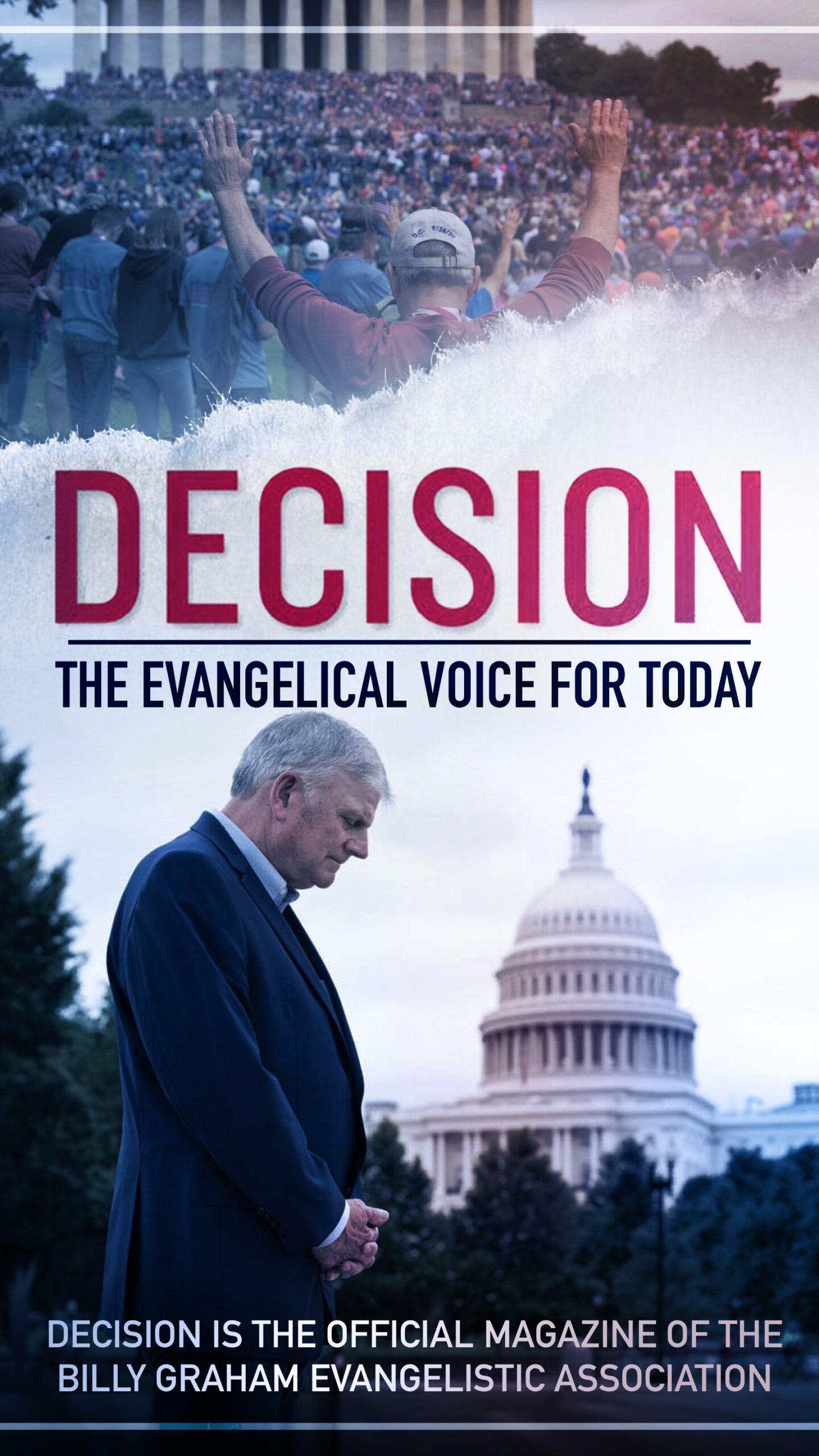Decision Magazine Ad