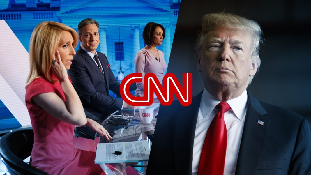 Trump , CNN