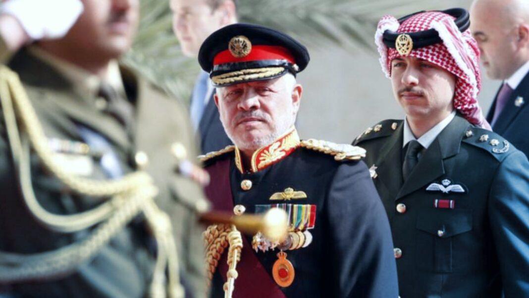 King Abdullah II, Half-brother Hamzah