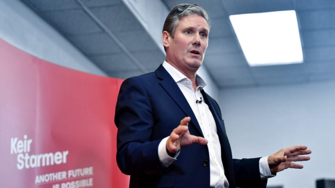 UK Labour Party Leader, Keir Starmer