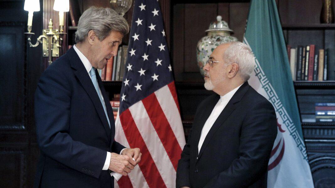 John Kerry, Iranian Foreign Minister Mohammad Javad Zarif
