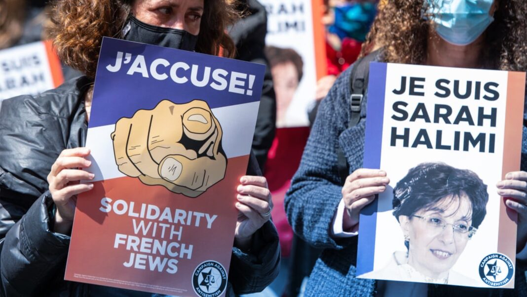 france, anti-semitic, anti-semitism, Sarah Halimi