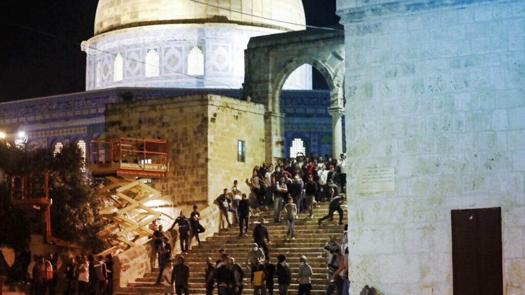 Violence, Jerusalem, Temple Mount,