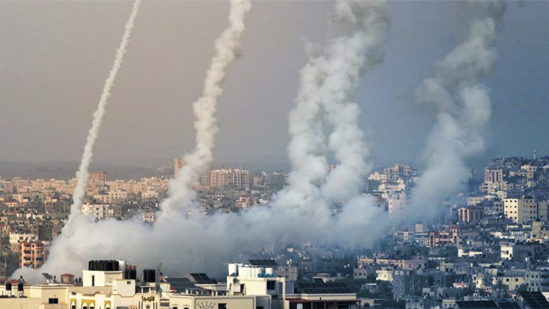 Rocket Fire Israel