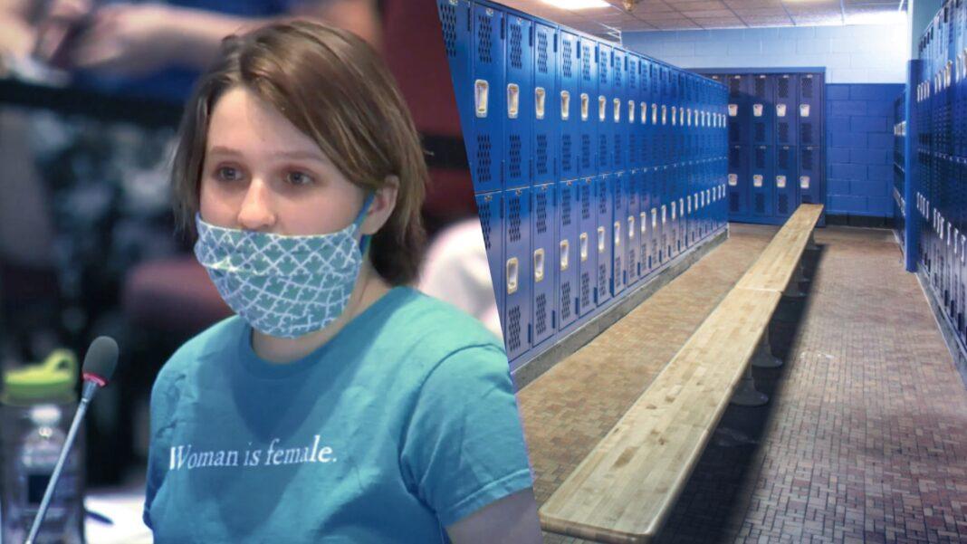 Jolene Grover, trans locker room