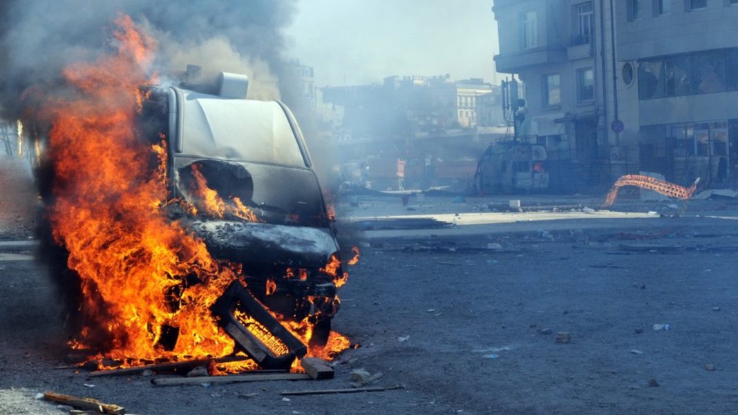 Terrorism, protests