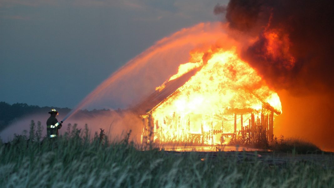 burned canadian churches