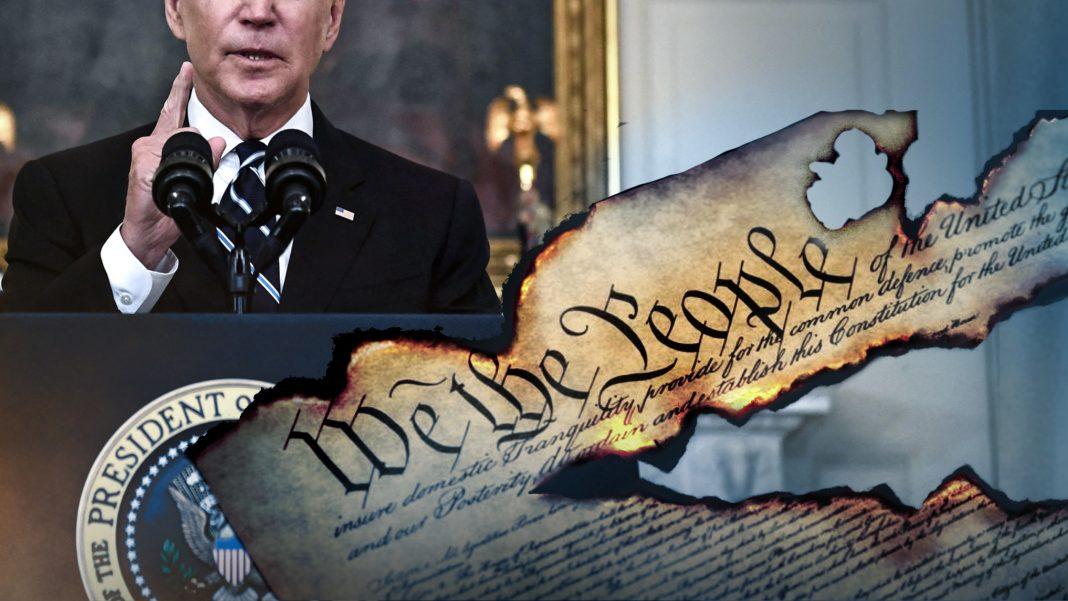 Joe Biden, America, Constitution